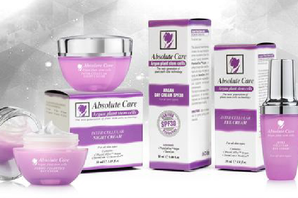Absolute Care Argan line from cosmetic manufacture in EU