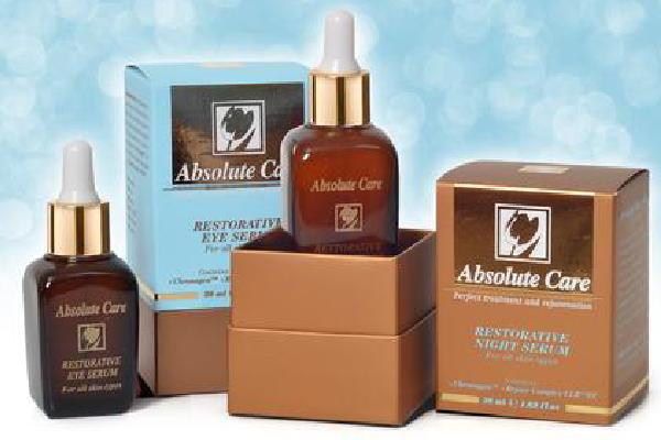Absolute Care Restorative Serum line from cosmetic manufacture in EU