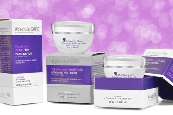 Absolute Care Hyaluronic Acid line from cosmetic manufacture in EU
