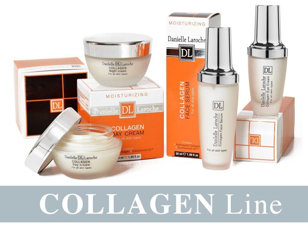 Danielle Laroche Collagen line from cosmetic manufacture in EU