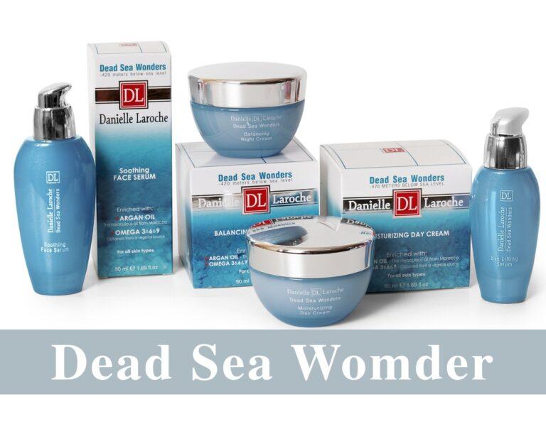 Danielle Laroche Dead Sea Wonders line from cosmetic manufacture in EU