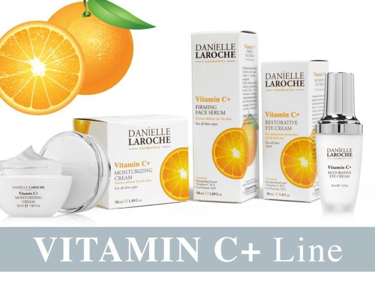 Danielle Laroche Vitamin C+ line from cosmetic manufacture in EU